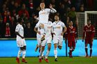 Swansea - Liverpool 1-0. Jordan Ayew złamał nos koledze z drużyny