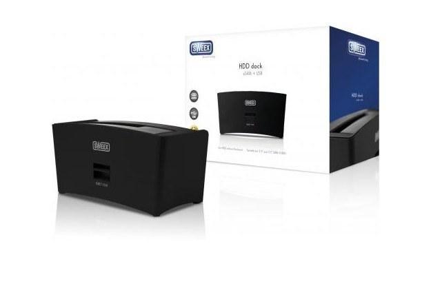 Sweex HDD Dock eSATA  - do łatwiejszego kopiowania dysków /PC Format