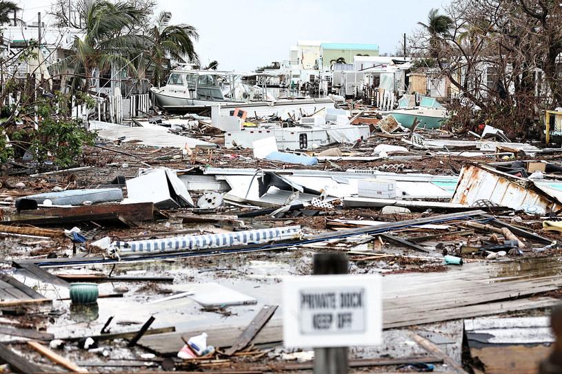 Świat po huraganie Irma /AFP