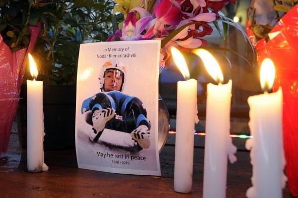 Świat żegna tragicznie zmarłego Nodara Kumaritaszwilego /AFP