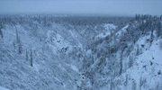 Świąteczna podróż na Alaskę