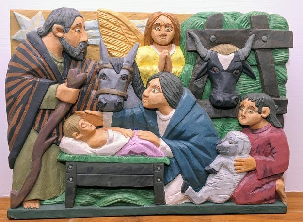 Świąteczna szopka / fot. J. Bielecki /East News