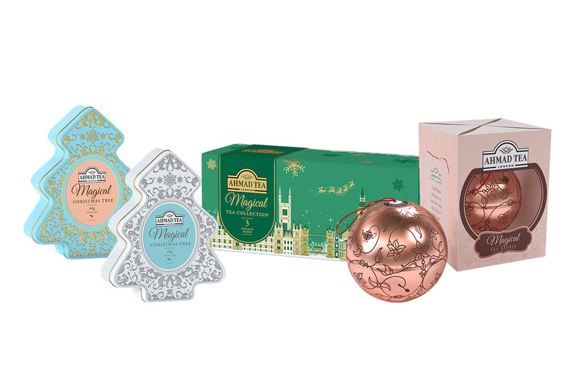 Świąteczne herbaty Ahmad Tea London /materiały prasowe