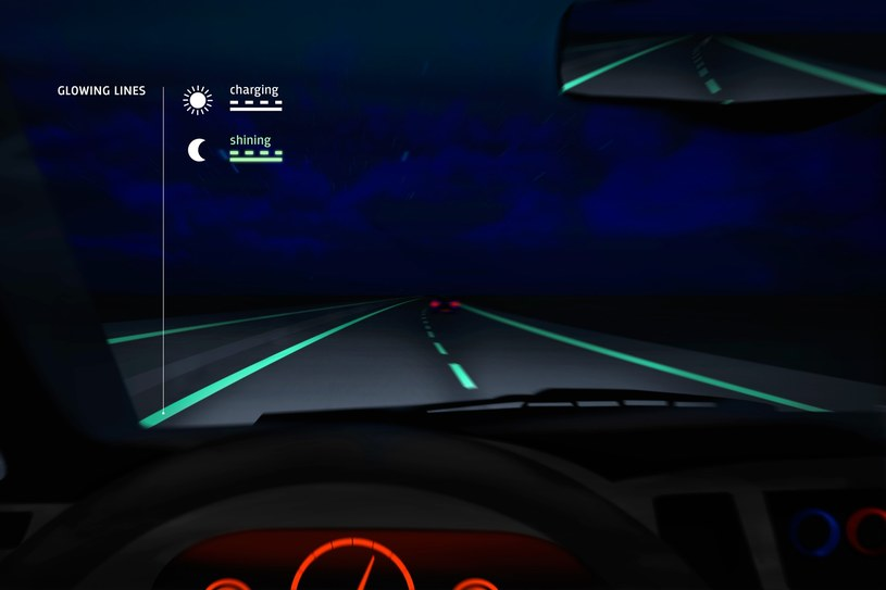 Świecące autostrady już niedługo pojawią się w całej Holandii /materiały prasowe