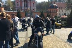 Święconka na motocyklach w Świętej Lipce