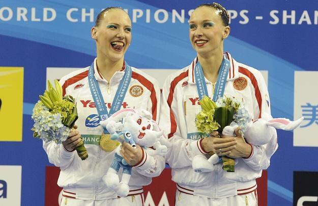 Swietłana Romaszina i Natalia Iszczenko /AFP