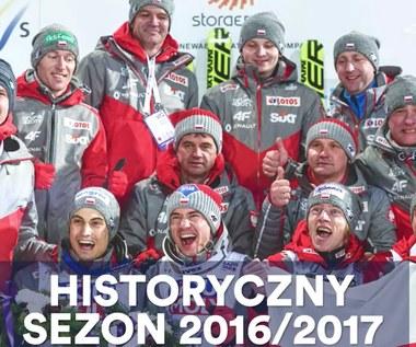 Świetny sezon 2016/2017 polskich skoczków. Wideo