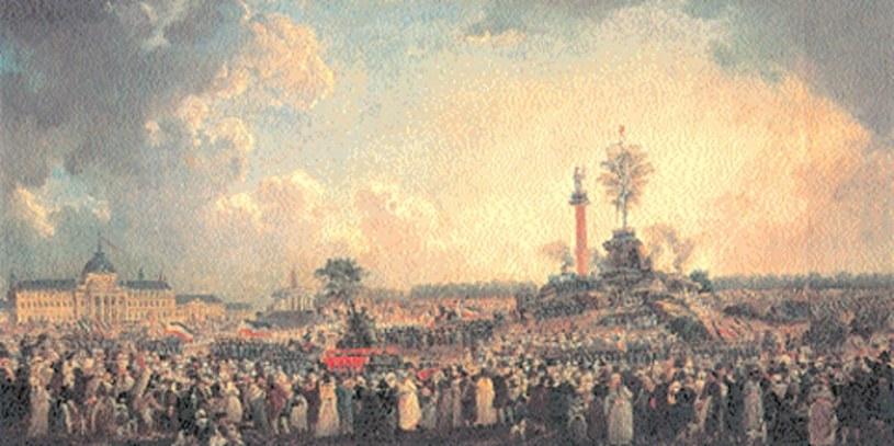 Święto Istoty Najwyższej 20 prairiala roku II (8 czerwca 1794 r.) /Encyklopedia Internautica