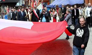 Święto Konstytucji 3 Maja w Zakopanem