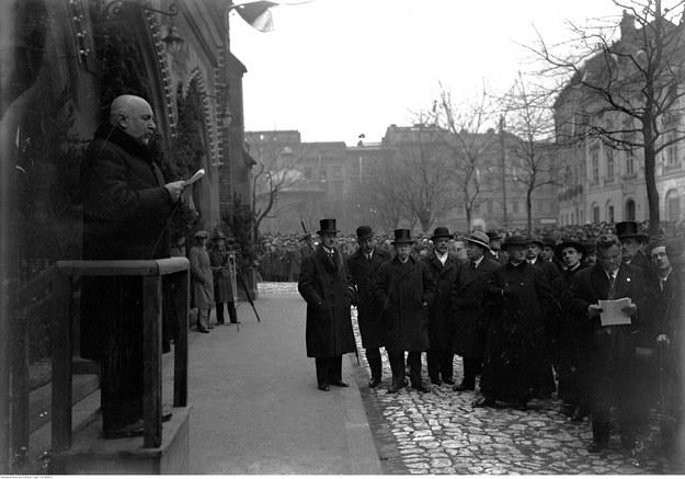 Święto Niepodległości, Kraków, 1928 r. /NAC Online /