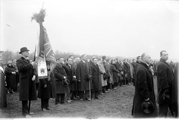 Świeto Niepodległości w 1928 r. /NAC Online /