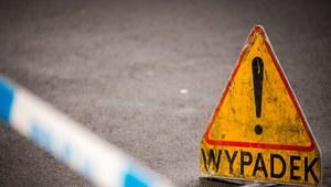 Świętokrzyskie: Czołowe zderzenie. Pięć osób rannych