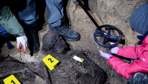 Świętokrzyskie: Odnaleziono szczątki ofiar egzekucji