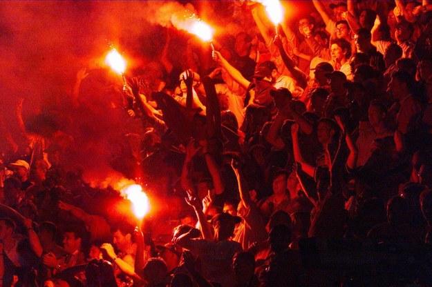 Świętujący fani Manchesteru United /AFP
