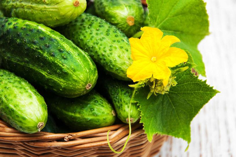 Świeże ogórki obieraj od jasnej strony /©123RF/PICSEL