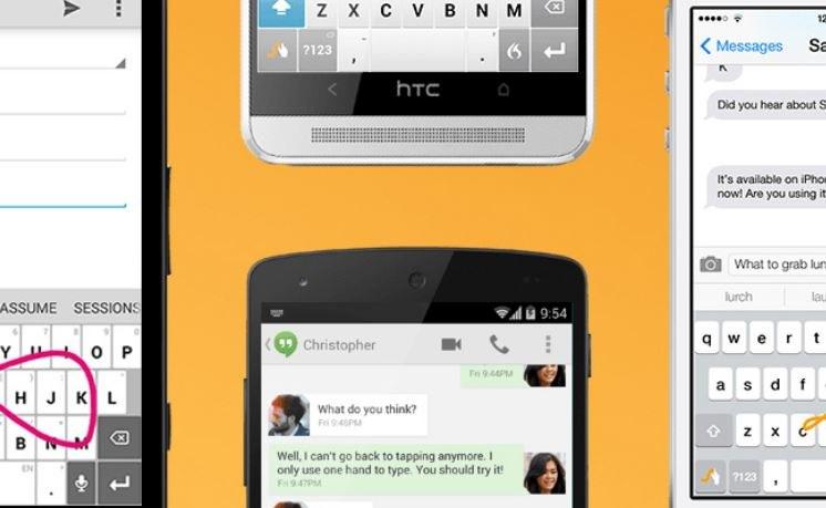 Swype był jedną z pierwszych alternatywnych klawiatur na Androida /materiały prasowe