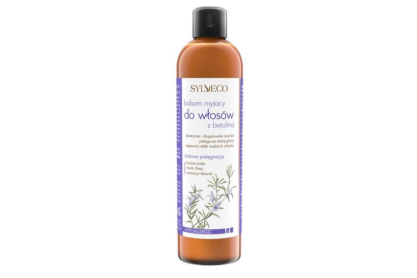 Sylveco: Balsam myjący do włosów z betuliną /materiały prasowe
