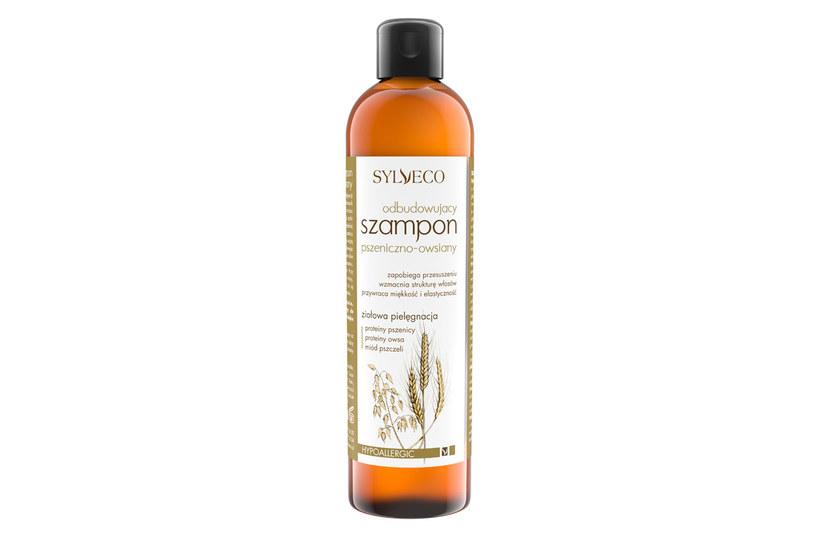 Sylveco: Odbudowujący szampon pszeniczno-owsiany /materiały prasowe