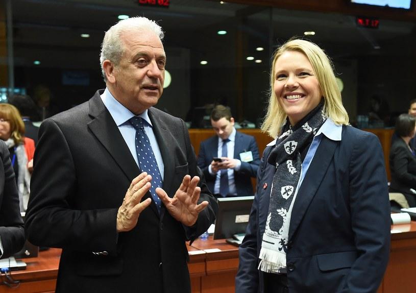 Sylvi Listhaug w Brukseli /AFP