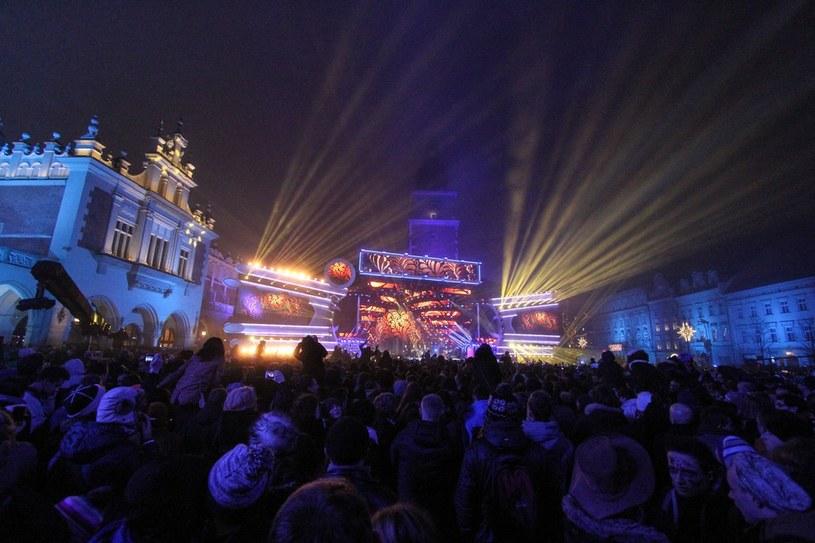 Sylwester na Rynku w Krakowie /Jan Graczyński /East News
