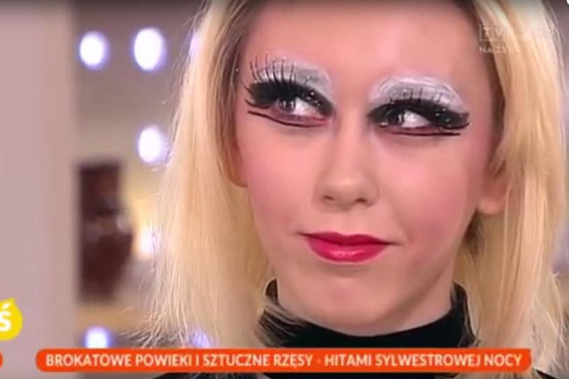 Sylwestrowy makijaż /Styl.pl