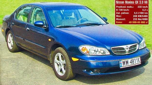 Sylwetka godna luksusowej limuzyny, a z rocznika 2001 — dostępna za grosze. /Motor