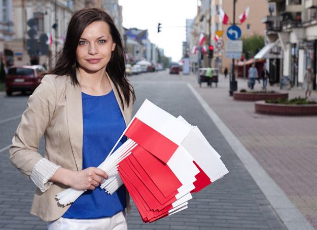 Sylwia Ługowska: Aniołek Prawa i Sprawiedliwości /Michał Tuliński /Agencja FORUM