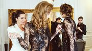 Sylwia Romaniuk zaprezentuje się podczas Arab Fashion Week