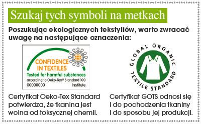 Symbole na metkach ubrań /Naj