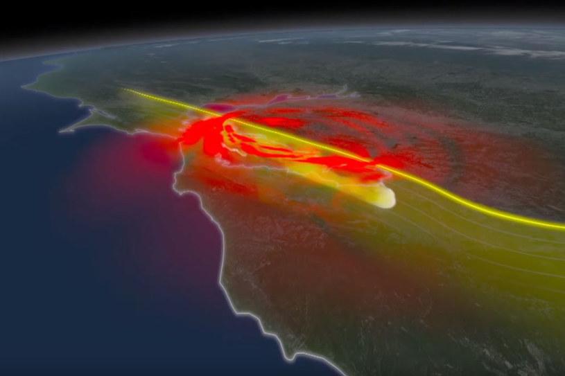 Symulacje komputerowe wykazały, że uskok San Andreas jest zdolny do wywołania trzęsienia ziemi o sile przynajmniej 8,3 stopni /materiały prasowe