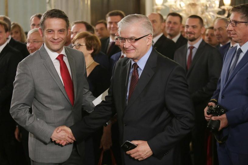 Syn Włodmierza Cimoszewicza Tomasz został posłem /Leszek Szymański /PAP