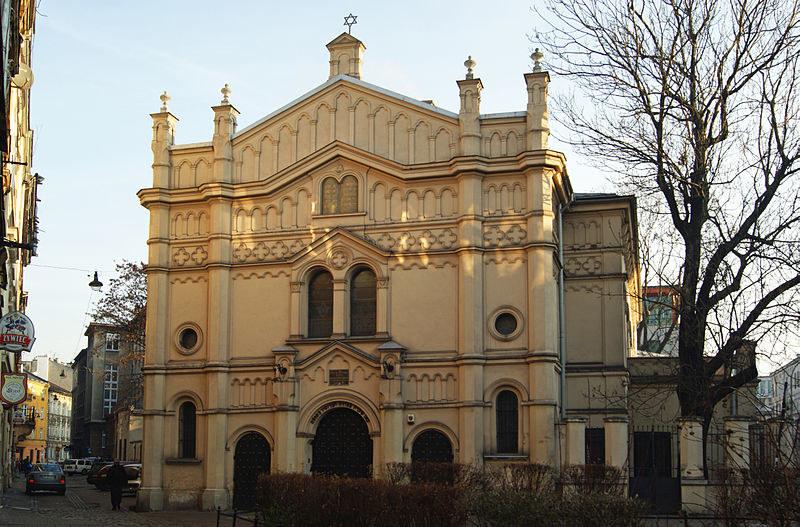 Synagoga Tempel w Krakowie (zdj. ilustracyjne) /Zygmunt Put/Wikimedia Commons /