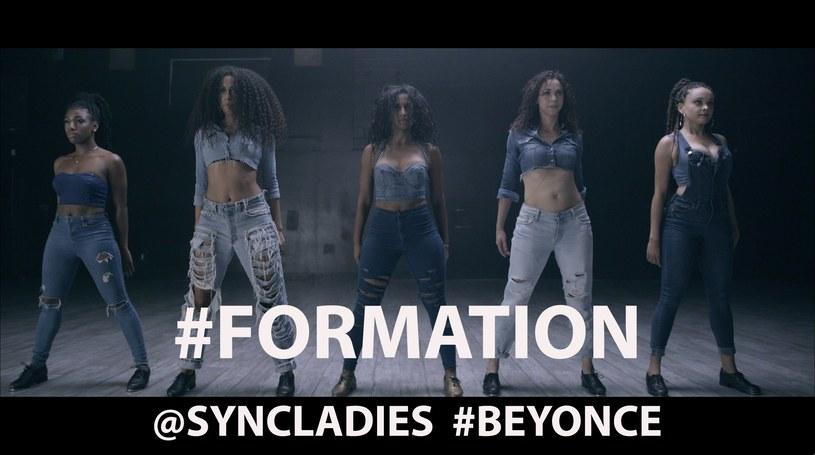 "Syncopated Ladies w choreografii do ""Formation"" /"