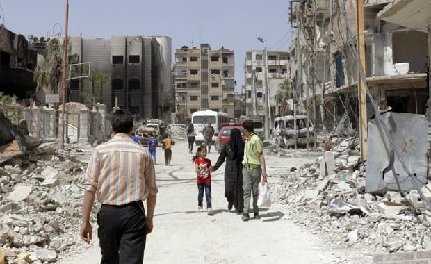 Syria: Inspektorzy OPCW ponownie pobrali próbki w Dumie