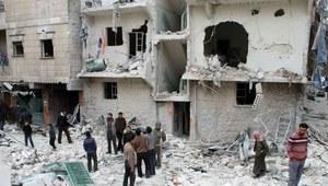 Syria: Na Aleppo zrzucono bomby beczkowe