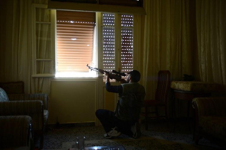 Syryjski konflikt podzielił społeczeństwo /AFP