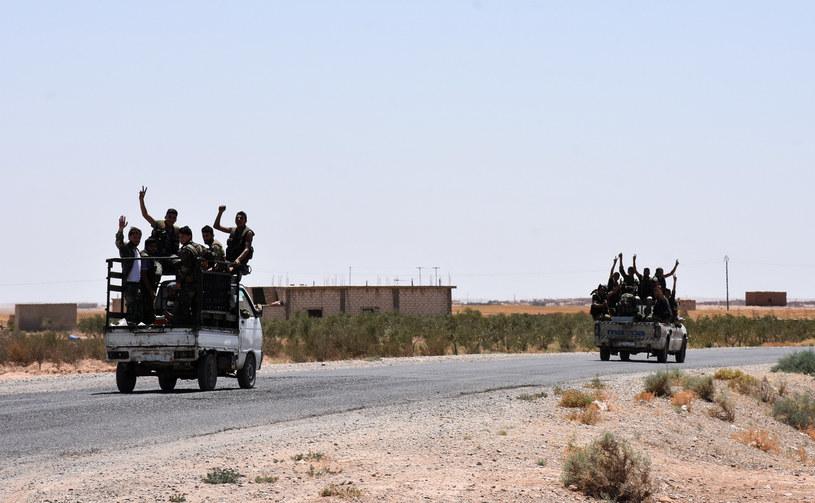 Syryjskie siły prorządowe /AFP