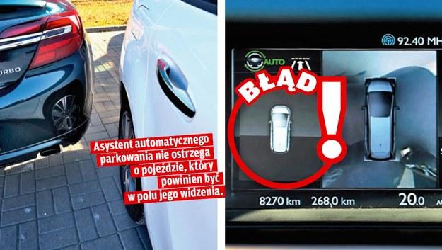 System automatycznego parkowania /Motor