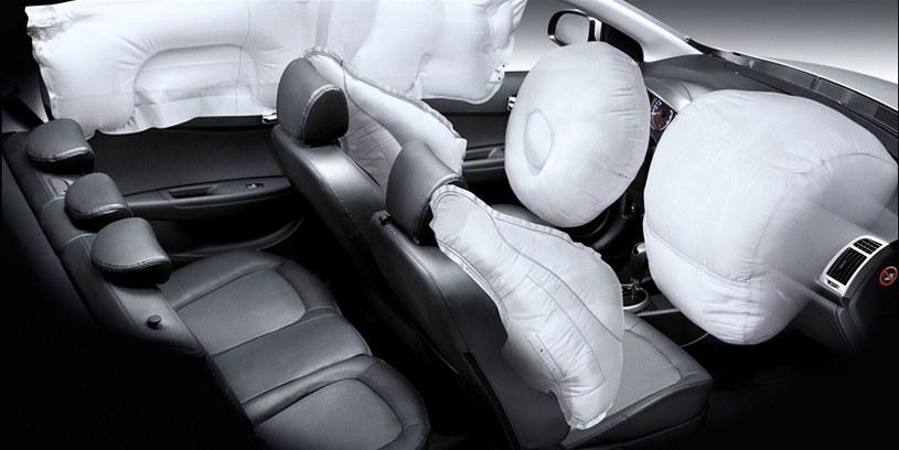 System poduszek powietrznych w samochodzie Hyundai i20 /materiały prasowe