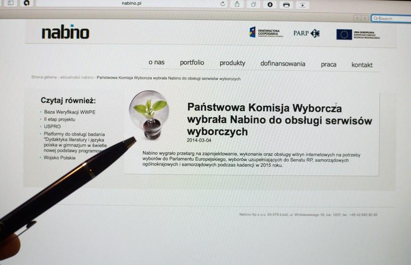 System powstał dzięki firmie Nabino /Grzegorz Michałowski /PAP