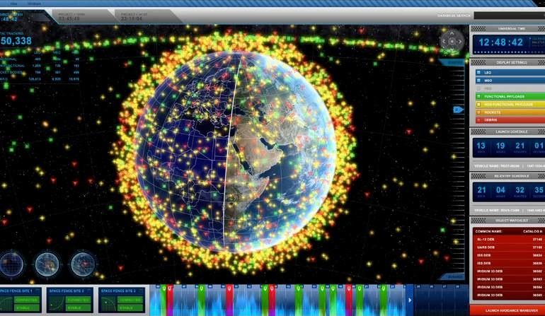 System Space Fence może śledzić nawet 20000 kosmicznych obiektów w tym śmieci – fot. Lockheed Martin /materiały prasowe