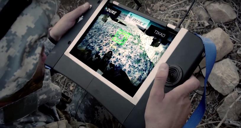 System wykorzystywany do sterowania dronem /materiały prasowe