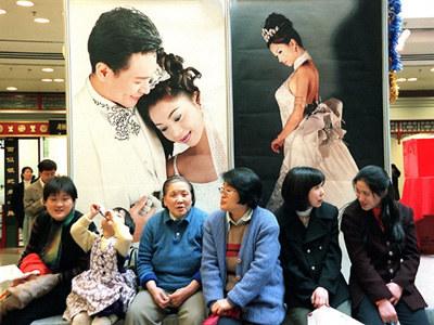 Sytuacja kobiet w Chinach jest trudna, postęp niestety nie pomaga  /AFP