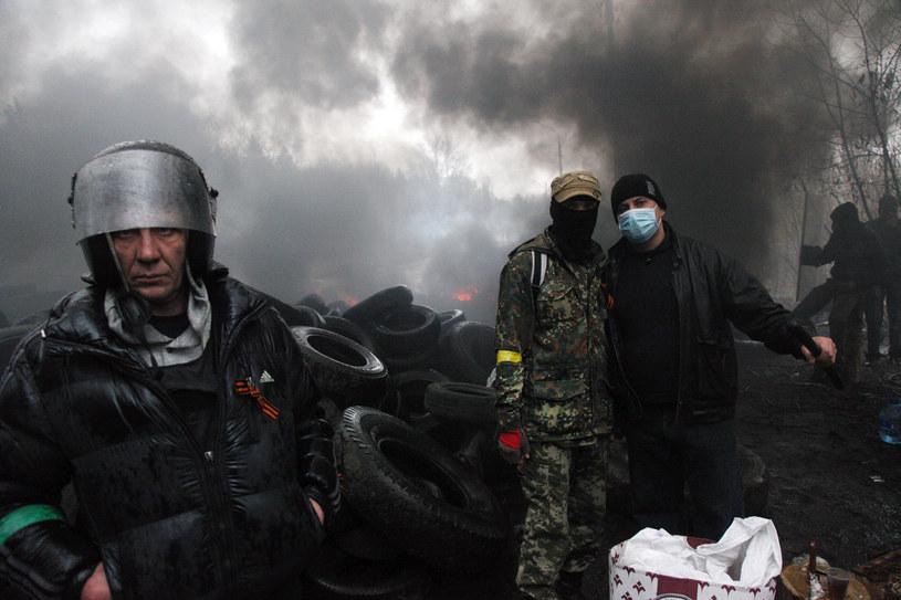 Sytuacja na Ukrainie znów jest bardzo napięta /AFP