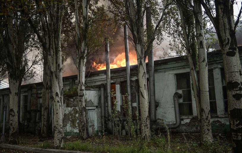 Sytuacja w Doniecku jest dramatyczna /AFP