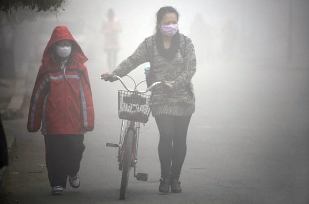 Sytuacja wymyka się Chinom spod kontroli /AFP