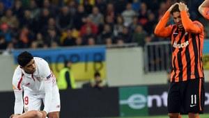 Szachtar Donieck - FC Sevilla. Bardzo poważna kontuzja Michaela Krohn-Dehliego