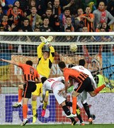 Szachtar Donieck - Sevilla 2-2 w półfinale LE. Album