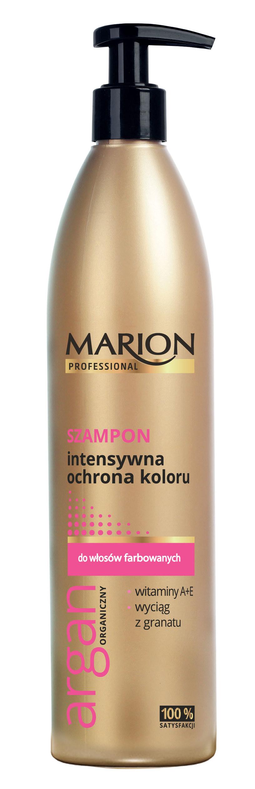 Szampon Intensywna ochrona koloru Marion /materiały prasowe
