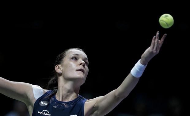 Szarapowa zagrała dla Radwańskiej. Polka w półfinale WTA Finals!